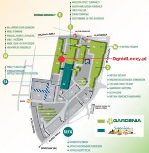 Hortiterapia Gardenia mapka